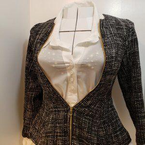 2/$40 Black Zip Up Jacket